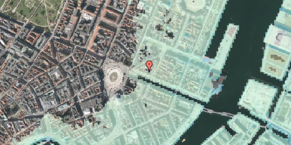 Stomflod og havvand på Nyhavn 11A, 4. , 1051 København K