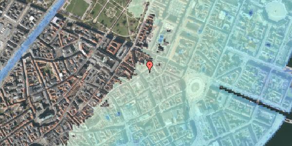 Stomflod og havvand på Store Regnegade 2, 1110 København K