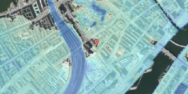 Stomflod og havvand på Bernstorffsgade 17, kl. , 1577 København V