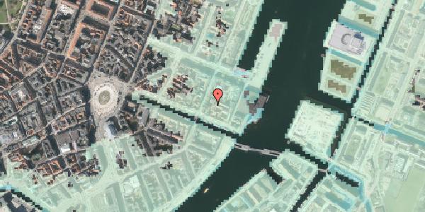 Stomflod og havvand på Nyhavn 53C, 1. , 1051 København K