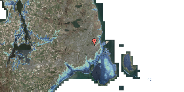 Stomflod og havvand på Rentemestervej 78, 1. 1, 2400 København NV
