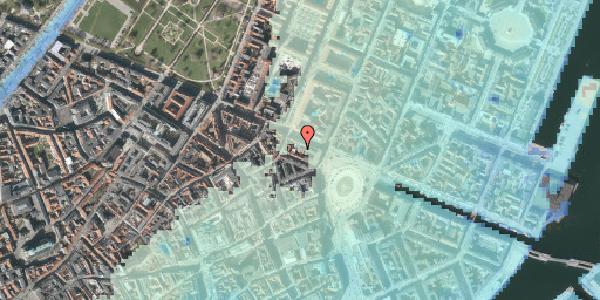 Stomflod og havvand på Gothersgade 11A, 1123 København K