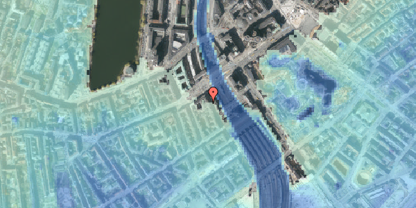 Stomflod og havvand på Reventlowsgade 4, 1. , 1651 København V