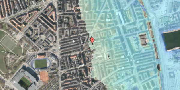 Stomflod og havvand på Viborggade 42, 2. tv, 2100 København Ø