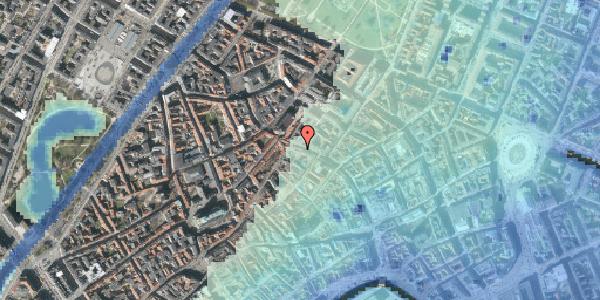 Stomflod og havvand på Købmagergade 45, 2. tv, 1150 København K