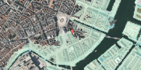 Stomflod og havvand på Tordenskjoldsgade 3, 2. 5, 1055 København K