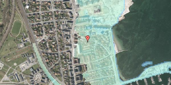 Stomflod og havvand på Strandøre 8A, st. , 2100 København Ø