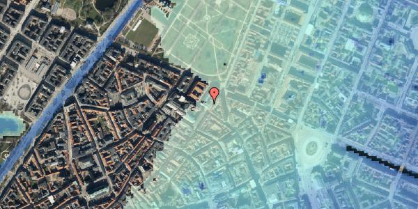Stomflod og havvand på Møntergade 19, st. , 1116 København K