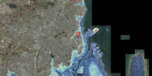 Stomflod og havvand på Ragnagade 11, 2100 København Ø