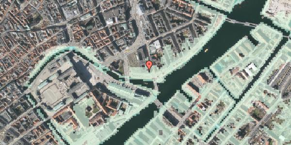 Stomflod og havvand på Havnegade 5, 1058 København K