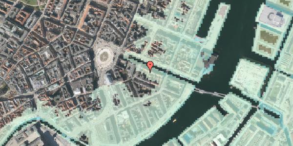 Stomflod og havvand på Nyhavn 10A, 1051 København K
