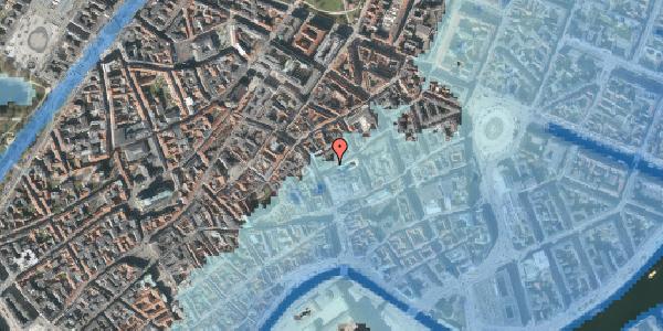 Stomflod og havvand på Silkegade 3, 4. , 1113 København K