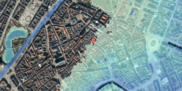 Stomflod og havvand på Løvstræde 2, 1152 København K