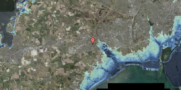 Stomflod og havvand på Elme Alle 42B, 2630 Taastrup