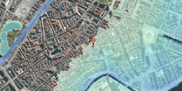 Stomflod og havvand på Valkendorfsgade 9, 2. th, 1151 København K