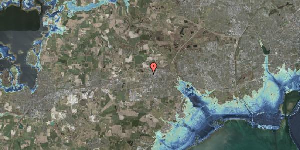 Stomflod og havvand på Helgeshøj Alle 53, 2630 Taastrup