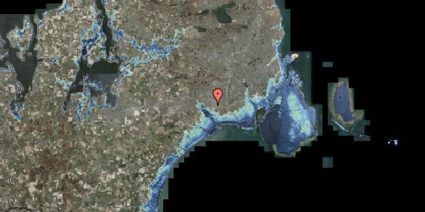 Stomflod og havvand på Jydekrogen 1D, 2625 Vallensbæk