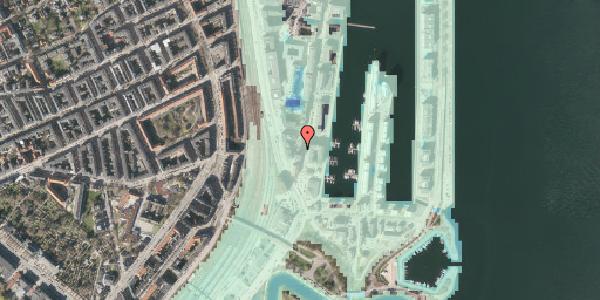 Stomflod og havvand på Dampfærgevej 7, 1. , 2100 København Ø