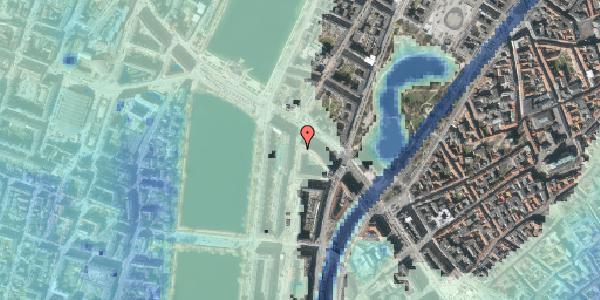 Stomflod og havvand på Nyropsgade 3, 4. , 1602 København V