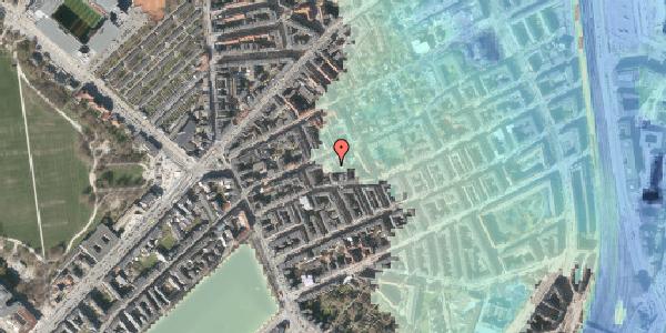 Stomflod og havvand på Rosenvængets Allé 20D, 4. , 2100 København Ø