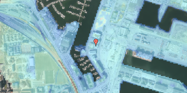 Stomflod og havvand på Sundkrogen 4, 4. , 2100 København Ø