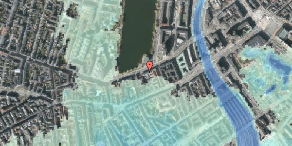 Stomflod og havvand på Gammel Kongevej 13, 1610 København V