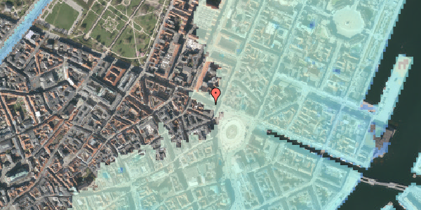 Stomflod og havvand på Gothersgade 5, 4. , 1123 København K