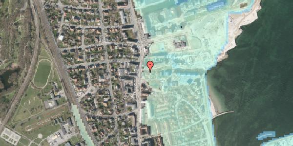 Stomflod og havvand på Strandvejen 32G, 2100 København Ø
