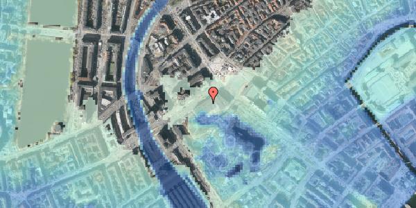 Stomflod og havvand på Vesterbrogade 1D, 1620 København V