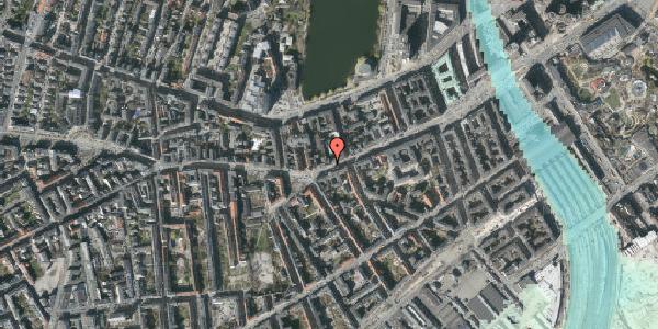 Stomflod og havvand på Vesterbrogade 34, 3. th, 1620 København V