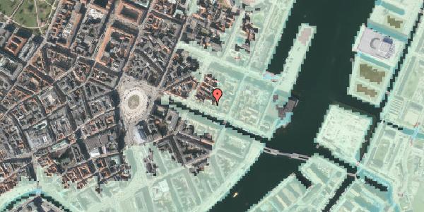 Stomflod og havvand på Nyhavn 37A, 1. , 1051 København K