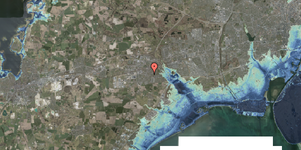 Stomflod og havvand på Valbyvej 47D, st. 1, 2630 Taastrup