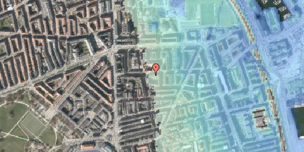Stomflod og havvand på Vordingborggade 20, 2100 København Ø