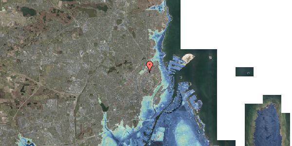 Stomflod og havvand på Emblasgade 115, 1. th, 2100 København Ø