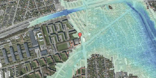 Stomflod og havvand på Hvidovrevej 218A, 2650 Hvidovre