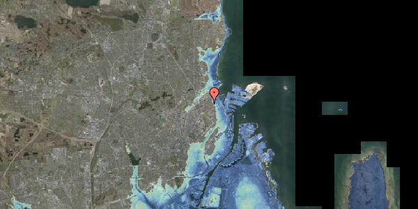 Stomflod og havvand på Nygårdsvej 34, 3. 4, 2100 København Ø