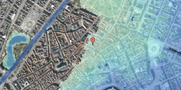 Stomflod og havvand på Købmagergade 46A, 1150 København K