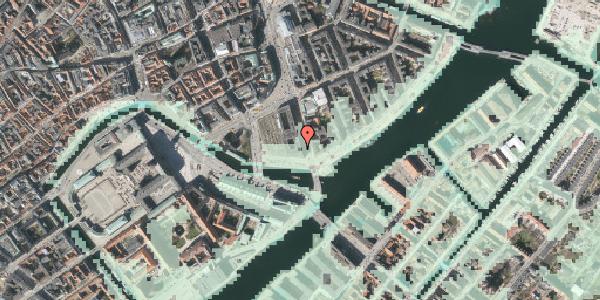 Stomflod og havvand på Niels Juels Gade 14, 1059 København K