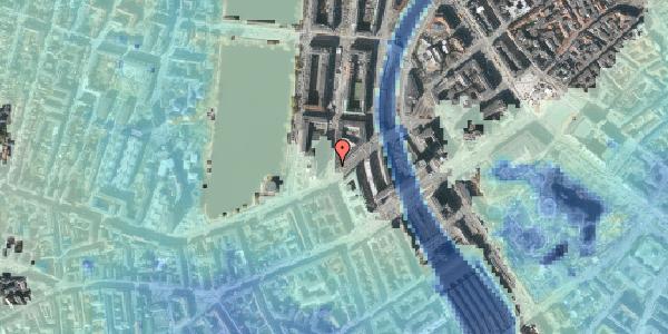 Stomflod og havvand på Nyropsgade 51, 5. , 1602 København V