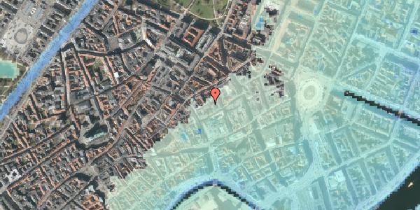 Stomflod og havvand på Silkegade 3A, 1. , 1113 København K