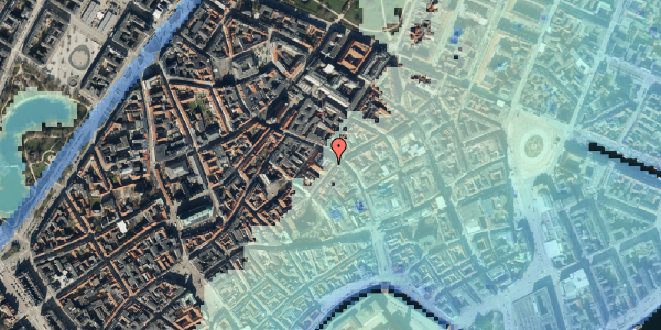 Stomflod og havvand på Valkendorfsgade 2, 2. , 1151 København K