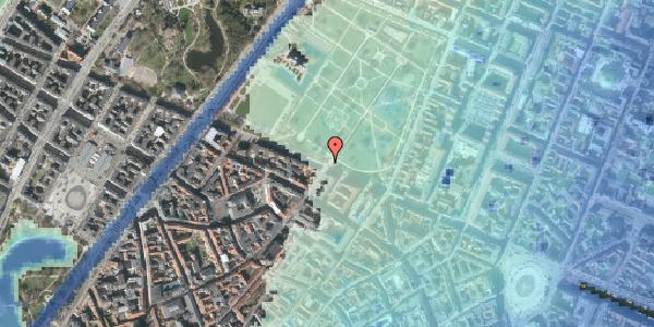 Stomflod og havvand på Gothersgade 78, 1123 København K