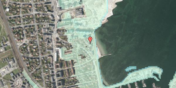 Stomflod og havvand på Strandpromenaden 63, 3. , 2100 København Ø