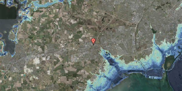 Stomflod og havvand på Nordengen 33, 2630 Taastrup