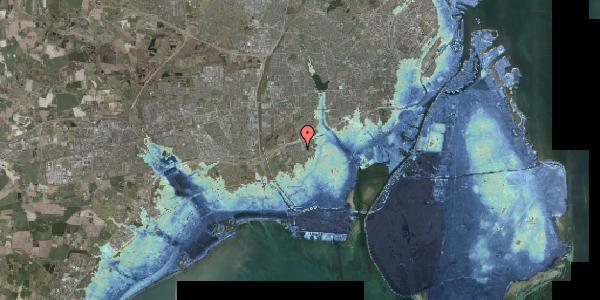 Stomflod og havvand på Hf. Kettehøj 50, 2650 Hvidovre