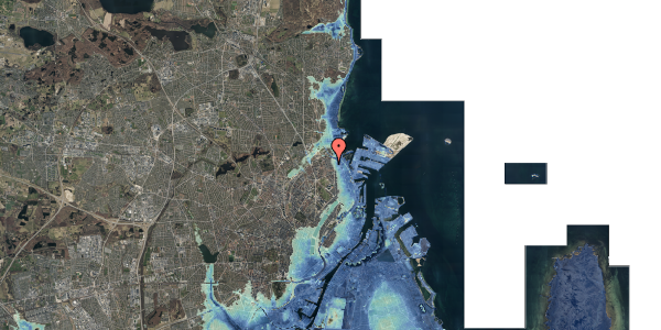Stomflod og havvand på Nygårdsvej 16B, 1. , 2100 København Ø