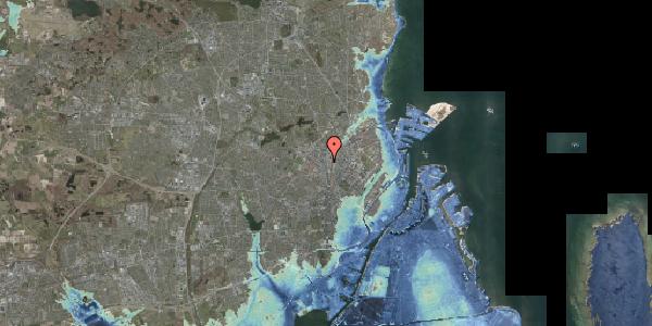 Stomflod og havvand på Frederikssundsvej 16A, 2400 København NV