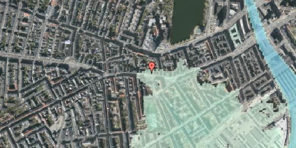 Stomflod og havvand på Vesterbrogade 58, 3. , 1620 København V