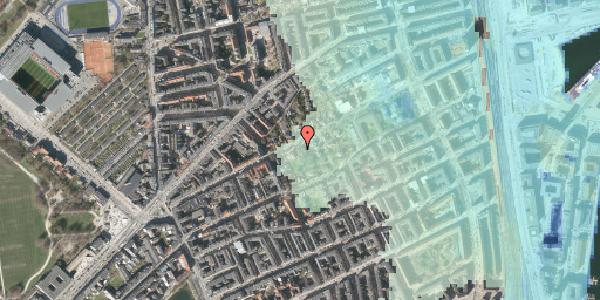 Stomflod og havvand på Rosenvængets Hovedvej 6A, 2100 København Ø