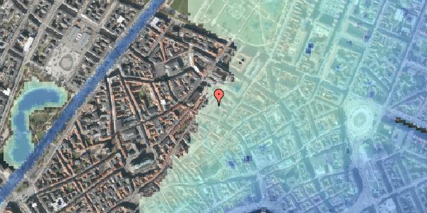Stomflod og havvand på Købmagergade 46C, 1. , 1150 København K